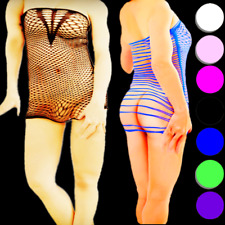 NEW MEN XS-XL sexy PLUS SIZE lingerie bodystocking crotchless HOT stocking #25