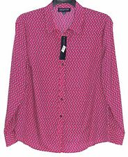 Jones New York Signature Long Sleeve Button Down Blouse  -  NWT