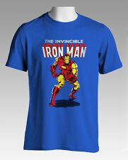 SALE Licensed Quality Marvel The Invincible Iron Man T-Shirt M L XL Free Postage