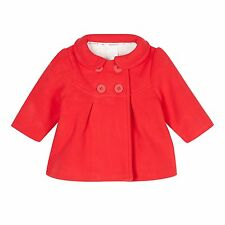 J By Jasper Conran Kids Designer Babies Red Fleece Coat From Debenhams