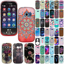 For LG Extravert 2 VN280 Various Design SNAP ON Hard Protector Case Cover Phone