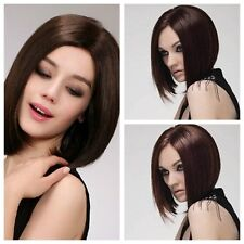 New Fashion Women's Sexy Short Straight Wig BOBO Cosplay Party Full Wigs+wig cap