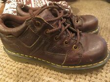 Dr Martens  ENGLAND Sz 9 Mens Brown  Oiled Leather Oxfords Shoes  Rj-b6