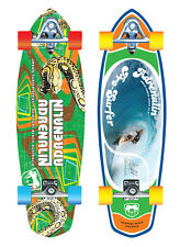 "ADRENALIN URBAN SURFER 32"" SKATEBOARD - CONCRETE OR BARREL GRAPHICS"