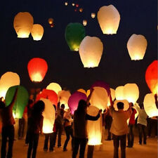 Sky Lanterns Chinese Paper Sky Fire Candle Wish Wedding Flying Party Lamp
