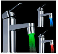 3 Color Sensor LED Light Water Faucet Tap Temperature For kitchen/Bathroom Hot