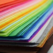 40 Colors Felt Sheets DIY Craft Supplies #G Polyester Wool Blend Fabric 15-30cm