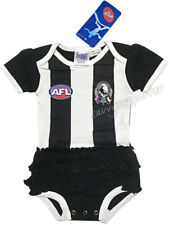 Collingwood Magpies Baby Girls Tutu Footysuit 'Select Size' 000-1 BNWT