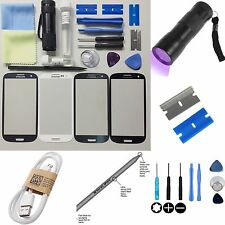 Samsung Galaxy S3 (I9300/I9305) Replacement Screen Front Glass lens Repair Kit