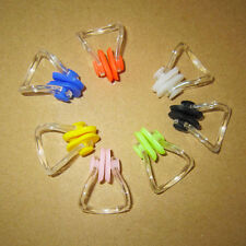New Silicone Swim Waterproof  Earplug Nose Clip Surf Swimming Earbuds 7 Colors