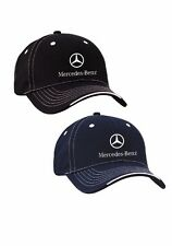 OEM GENUINE MERCEDES BENZ TRI-COLOR COTTON TWILL CAP HAT
