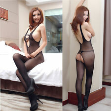 Sexy Bodysuit Bodystocking Lady Lingerie Babydoll Nightwear Underwear Mesh Dress