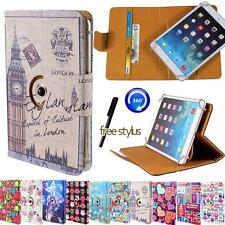 Folio Rotating Stand Wallet Leather Case Cover For Google Nexus 7 9 10 Tablets