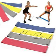 Loop Gym Yoga Resistance Band Tension Exercise Crossfit Strength Weight Training