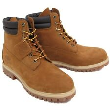"Timberland Men's 6""inch RUST BROWN PREMIUM VALUE WORK BOOTS 73542 ALL SIZES+USA+"