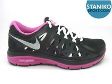 Womens NIKE DUAL FUSION RUN 2 Black Running Trainers 599564016