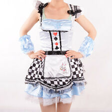 4833 Alice In Wonderland costume for girls party cosplay fantasias fancy dress