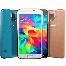 *UNLOCKED* NEW Samsung Galaxy S5 AT&T SM-G900A 4G LTE 16GB Phone Black Gold