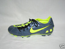 Nike Total 90 Shoot III FG Mens Soccer Cleats, Met Blue/Volt 385402, 6.5