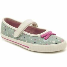 Girls Clarks Canvas shoes size 1