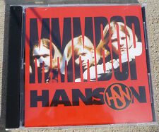 Hanson Pre-fame Official MMMBOP CD rare 1996 GREAT CONDITION OOP JAM MUSIC