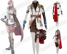Final Fantasy FF XIII 13 Lightning Cosplay Costume