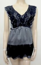 NWT BKE BUCKLE DAYTRIP CHARCHOL GRAY WITH BLACK LACE,SIZE SMALL