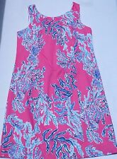 New Lilly Pulitzer woman size 4  Cathy Shift Dress Capri Pink Samba