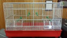 DOUBLE BREEDER CAGE FOR FINCHES AND CANARIES #DM322WH