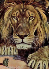 The Lion & The Mouse ~ Fables ~ Counted Cross Stitch Pattern