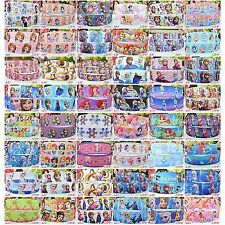 "5 yards DISNEY PRINCESS FROZEN ELSA ANNA 9/22mm 3/8"" 7/8"" Grosgrain Ribbon Craft"