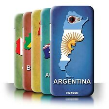 STUFF4 Back Case/Cover/Skin for HTC Butterfly S/Flag Nations