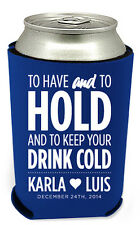 300 Personalized Custom Can Koozies Coolies Wedding Favors Quick Turnaround