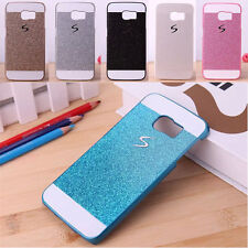 Bling Protective Hard Plastic Back Case Cover Skin for Samsung Galaxy S6 Edge