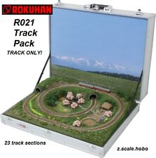 Rokuhan Z Scale R021 Track Set for Briefcase Train Layout *NEW $0 SHIP