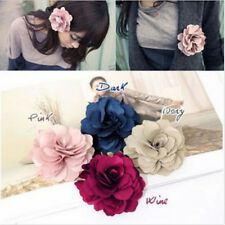 Hot Woman Lady Peony Flower Hair Clip Hairpin Brooch Accessories Beach Beautiful