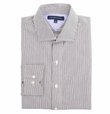 Tommy Hilfiger Men Long Sleeve Button Down Stripe Dress Shirt - $0 Free Ship