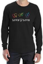Love Is Love - Equal Rights Gay & Lesbian Marriage Long Sleeve T-Shirt LGBT