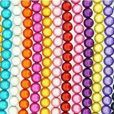 Miracle Illusion 3D Beads 6mm Round Beads 65 Beads many colour choices
