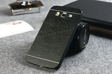 Brushed Hard Metal Back Cover Case For Samsung Galaxy Grand Grand Duos I9082
