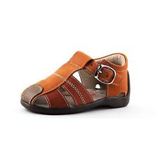 Baby & Toddler Boy Leather Fisherman Sandals | Wobbly Waddlers - TAYLOR