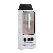 Universal 2.4A+1A Dual 2 Port USB Car Charger For iPhone 5 6 Samsung PDA MP4 GPS
