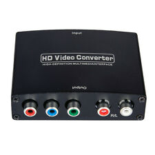 HDMI to RGB Component (YPbPr) video + R/L Stereo Audio Adapter Converter HD TV~