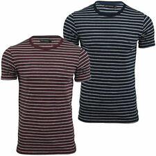 Mens T-Shirt by FCUK/French Connection Kerouac Stripe