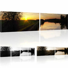 Pictures Seascape Mural Sea picture on canvas Natural Art print Sunset