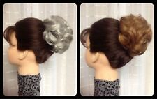 BECKY MONA LISA petite clip-on HAIRPIECE 38 COLOR CHOICES pageant ALSO GREYS!