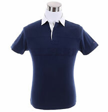 Tommy Hilfiger Men Short Sleeve Custom Fit Logo Rugby Polo Shirt - $0 Free Ship
