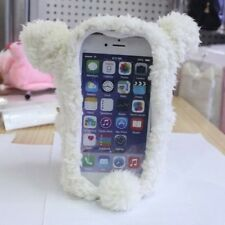 "3D Cute Doll Toy Cool Plush Teddy Bear Cover Case For Iphone 6 4.7"" 5.5"" Plus"