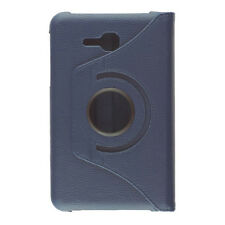 Samsung GALAXY Tab3 (7 inch) Lite PU Leather 360 Degree Rotating Cover Case