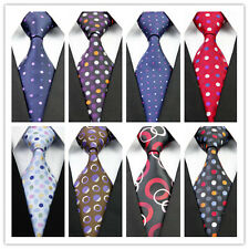 Men's Blue Red White Black Brown Yellow Floral New Classic Casual Tie Necktie